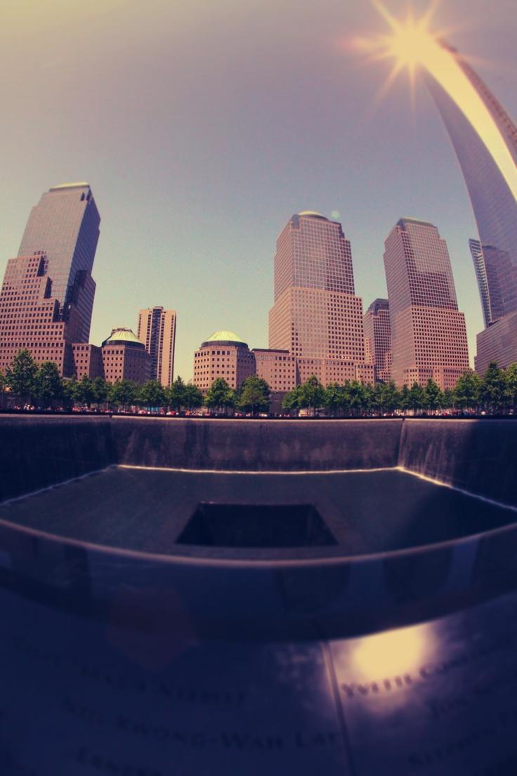 WTC memorial - new york city