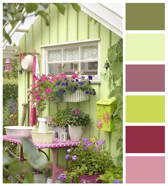 Another colour scheme for Poppy's room.