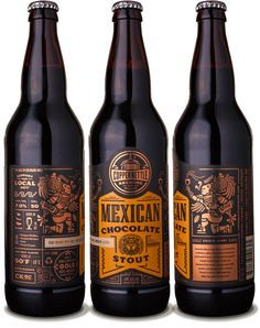 Copper Kettle Mexican Chocolate Stout - designed by Emrich Office
