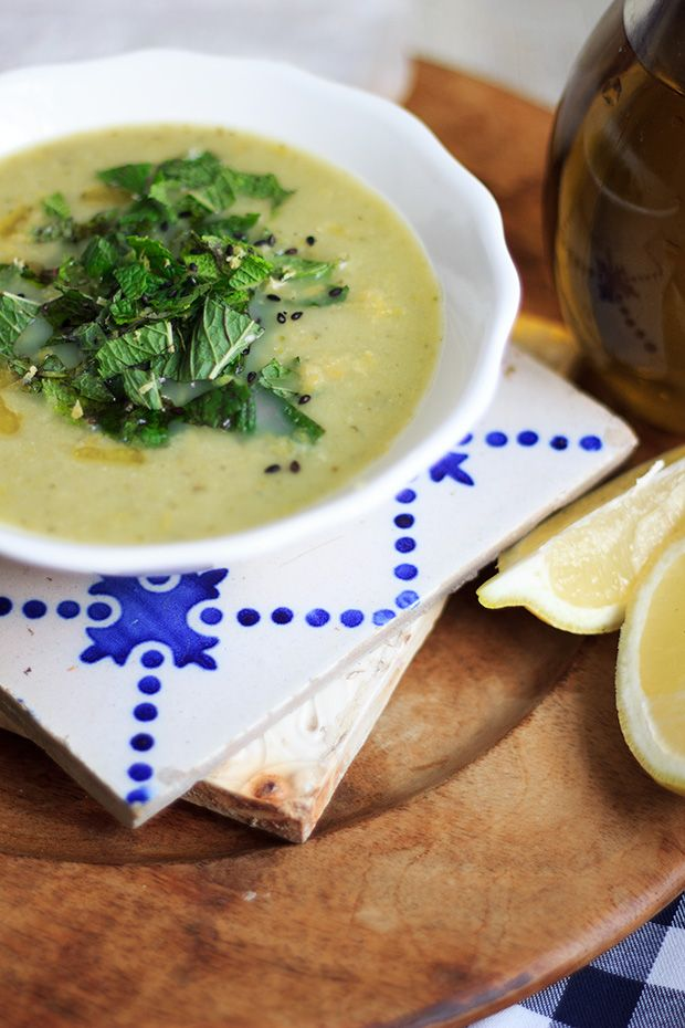 Pea and Mint Creamy Soup