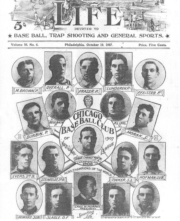 1908 | 1908 CHICAGO CUBS