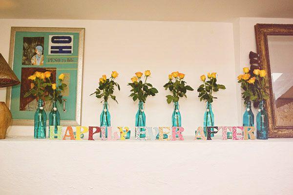 Flores amarelas para alegrar a festa =)