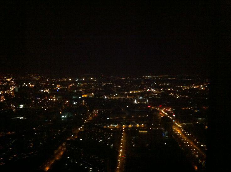 #Wrocław#Sky#Towerby night