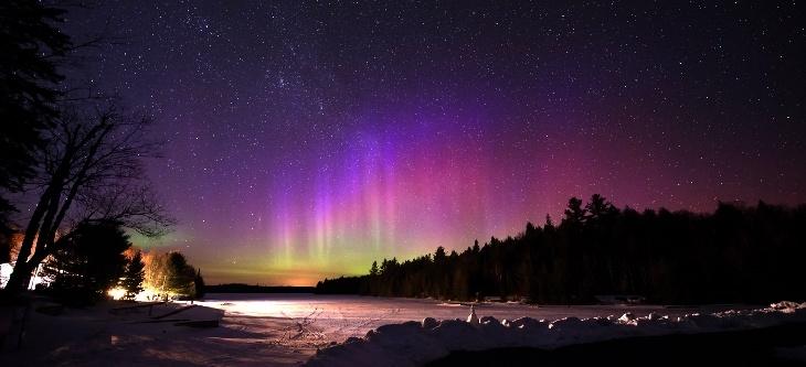 Northern Lights - Algonquin Park, Canada