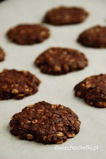 Dwie Chochelki: Czekoladowe ciasteczka owsiane