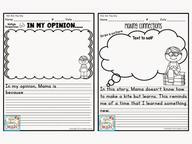 every story has an opinion writing and a text connection worksheet perfect for common core. Black Bedroom Furniture Sets. Home Design Ideas