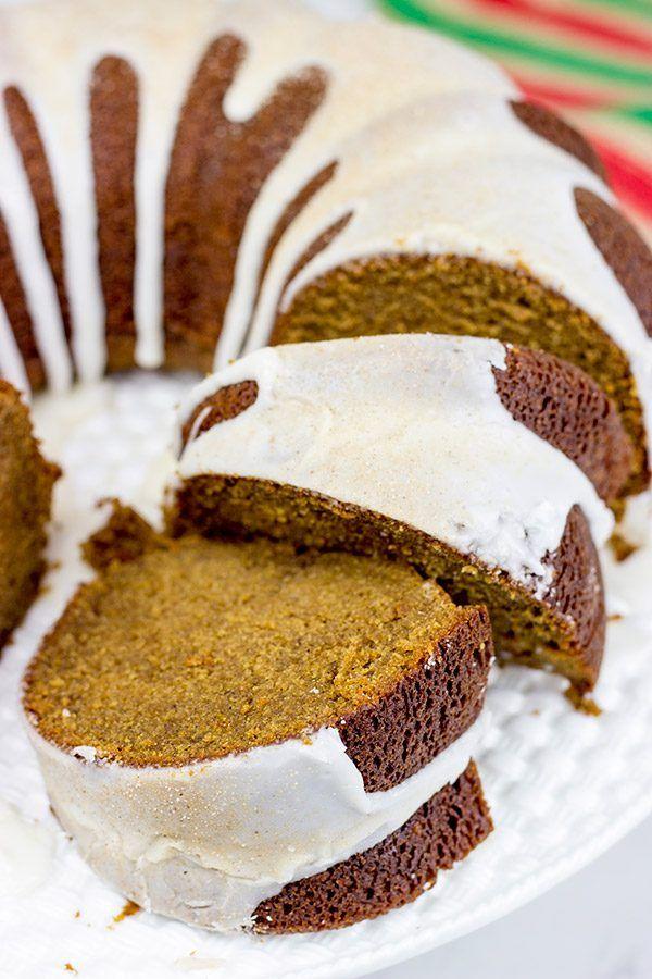 Gluten Free Gingerbread Pound Cake