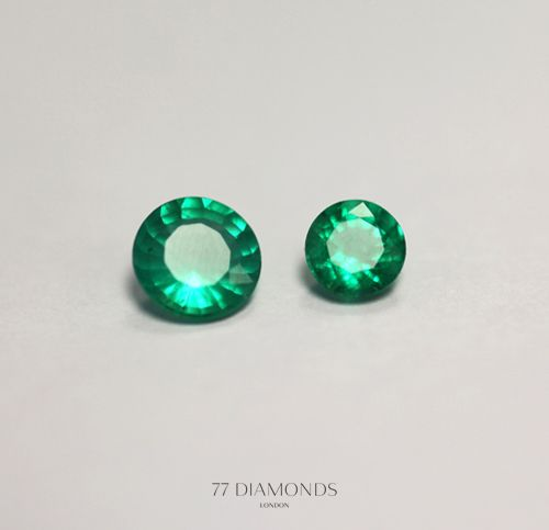 Beautiful emeralds.