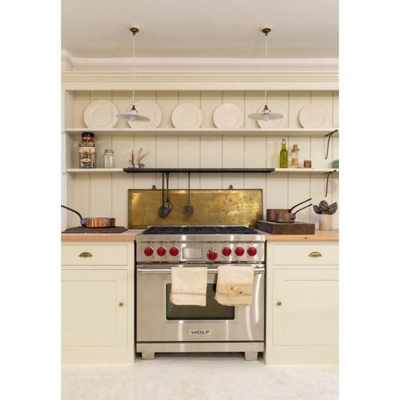 Cottage Kitchen Permit Utah: A Plain English Kitchen Installed In The Howe Showroom On