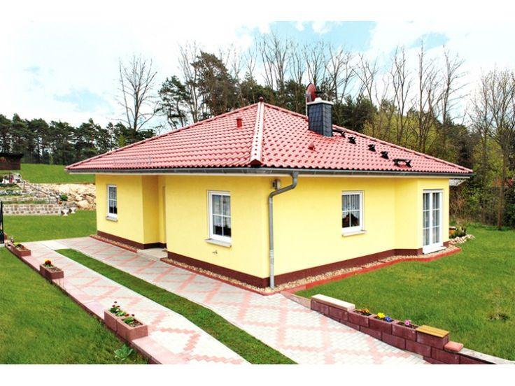 102 best images about bungalows on pinterest villas for Modern bungalow bauen