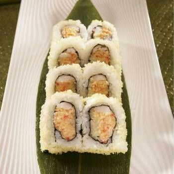 Tampa Roll Tampa Roll is listed (or ranked) 43 on the list The Most Delicious Types of Sushi Rolls Photo: user uploaded image Fried grouper, onion, and mayo.