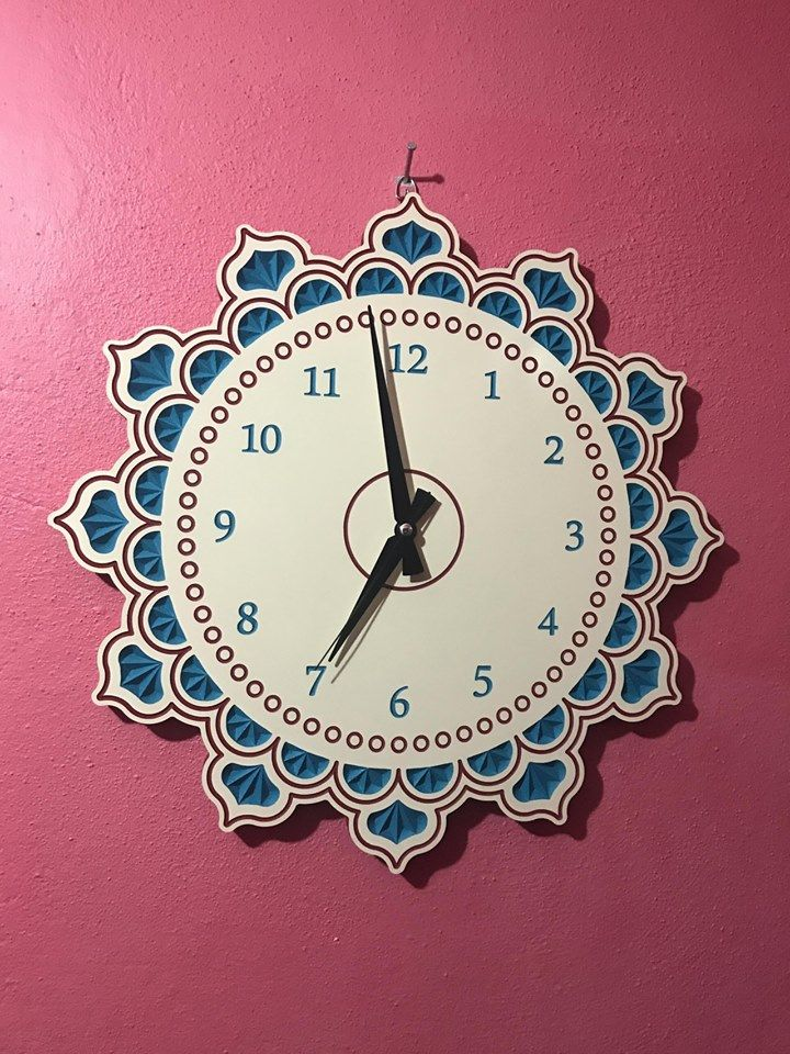 Free Wooden Clock Plans Dxf For Laserrouter Cutting Dxf File