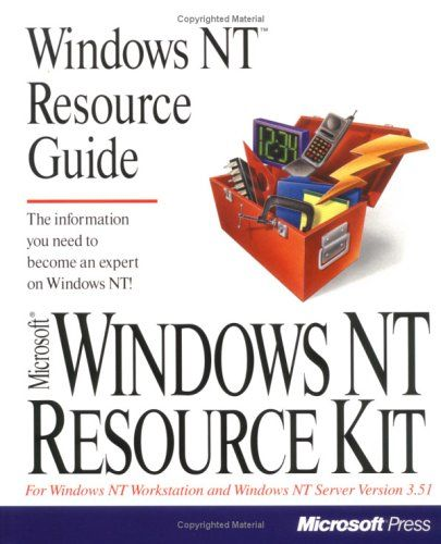 Windows Nt Resource Guide (Microsoft Windows Nt Resource Kit for Windows Nt Workstation and Windows Nt Server Version 3.5 ; 1) by Author not stated http://www.amazon.com/dp/1556156537/ref=cm_sw_r_pi_dp_ceVWub13V1HSG
