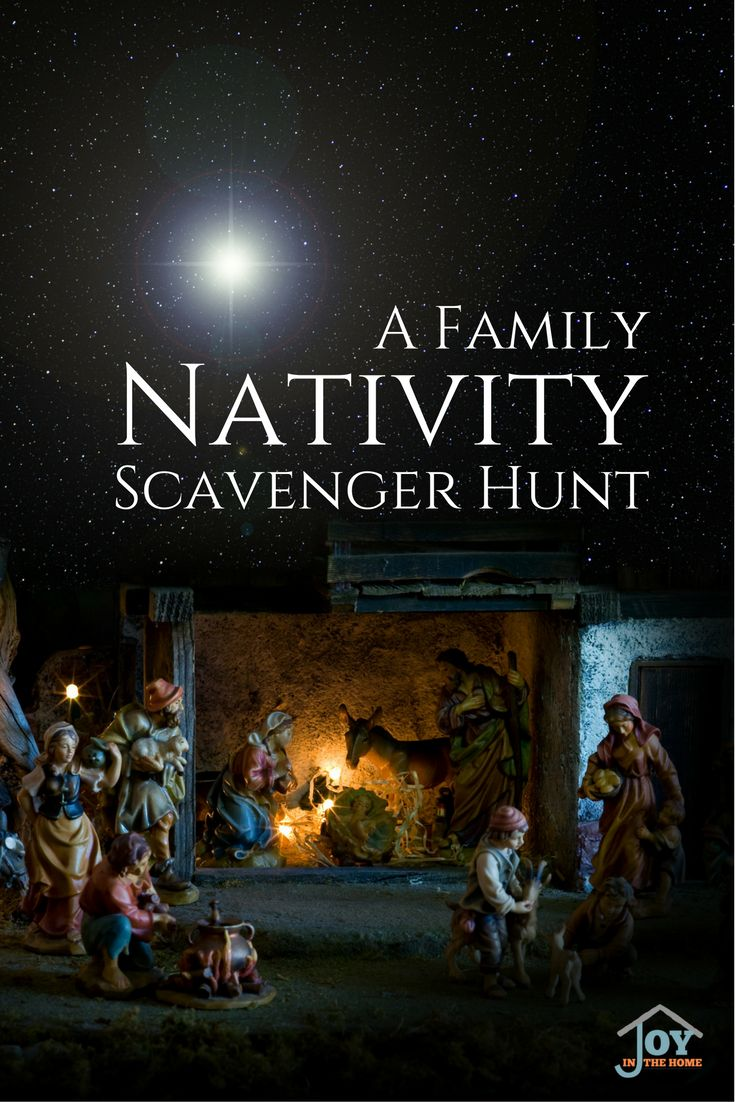 Take your family on a nativity scavenger hunt that will bring joy looking at Christmas lights, as you seek to find Jesus, as the Wise men. via @joyinthehome