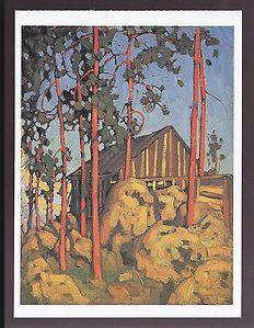 Lawren S Harris Algonquin Park c.1917 McMichael Canadian Art Collection