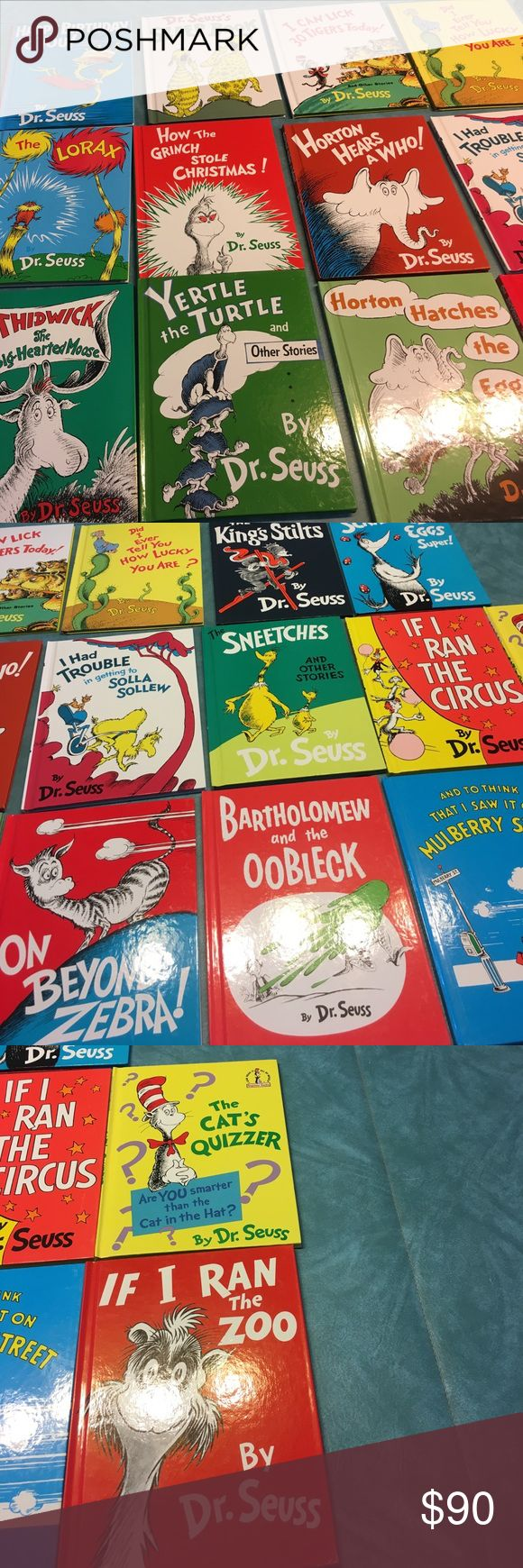 Dr Seuss book set of 20 Wonderful Dr Seuss set! Some classics along with other fun ones! Brand new books! Books measure 8.5in x 11. Other