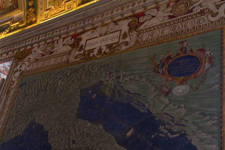 sala de los mapas, museo del vaticano