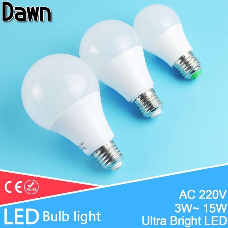 Spectacular High Bright Aluminum Cooling E LED Lamp LED Bulb Light W W W W W W
