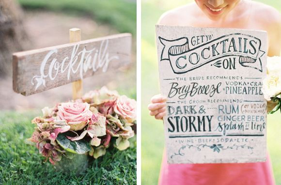 Wedding guests go gaga over specialty drinks and free stuff. This can be well within your budget if you whip up these wedding cocktail ideas yourself.