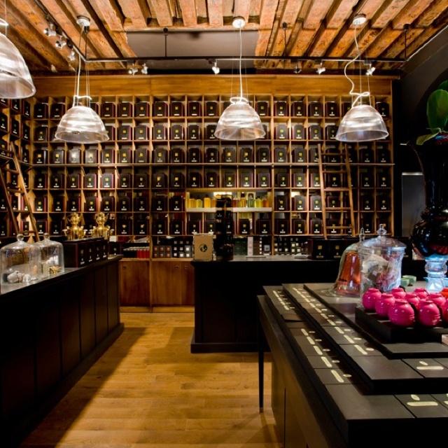 DAMMANN frères - Thés - Paris iV An excellent tea shop