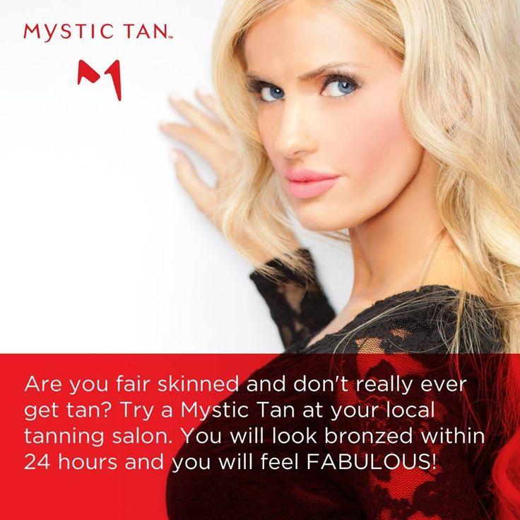 Mystic tan spray tan I Love INdoor Tanning Pinterest