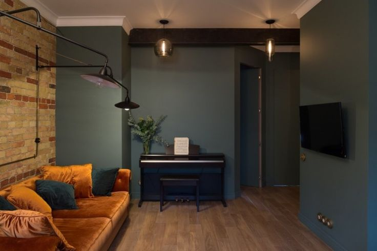 Izgalmas terek: indusztriális stílusú 68 nm-es modern belvárosi lakás