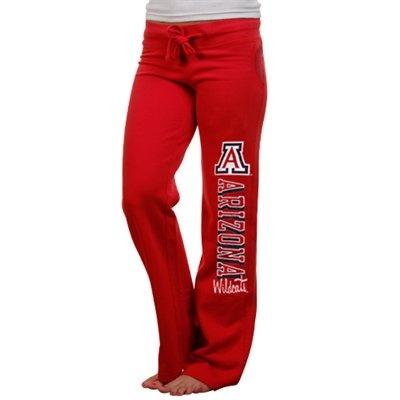 Arizona Wildcats Ladies Frosh Fleece Sweatpants - Cardinal