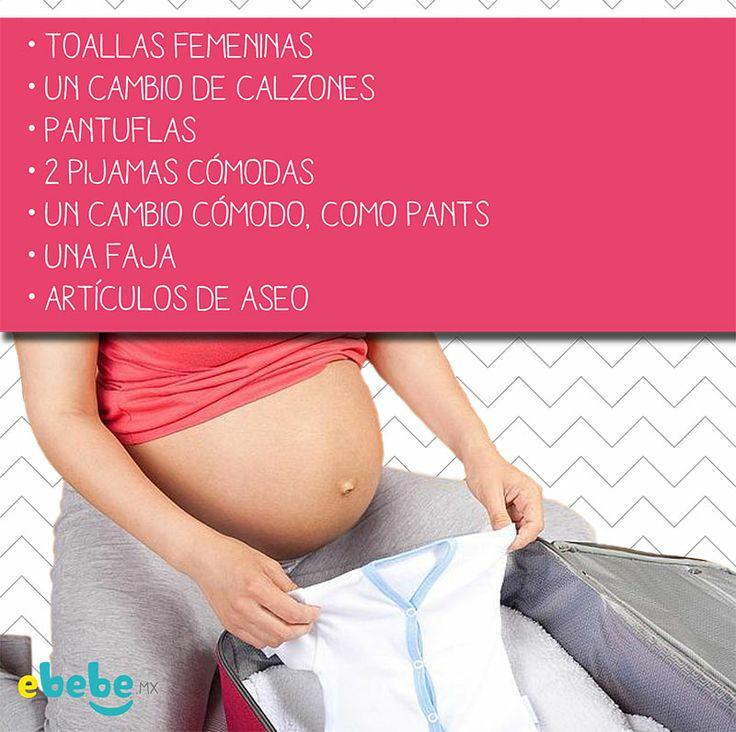 Sabes qué debes poner en tu maleta para ir al hospital? #tip #bebe #embarazada www.ebebe.mx
