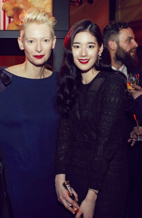 Tilda Swinton & Jung Eun-chae