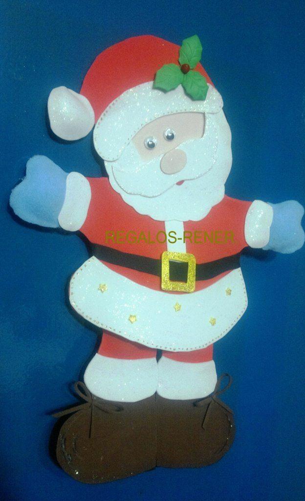 Paá Noel en foami