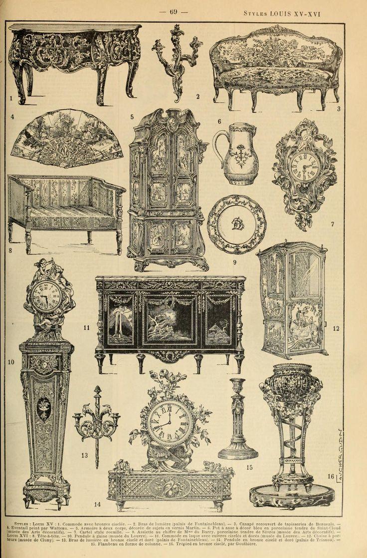 Le Larousse pour tous : Styles Louis XV-XVI