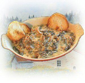 Recette de la Croûtete aux Morilles, Cuisine Franc-Comtoise