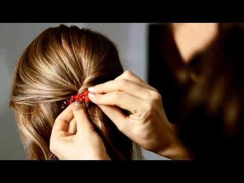 The Crown Lift Hairstyle by Colette Malouf - thecmway - YouTube