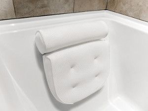 Harrison House Luxurious Bath Pillow with Konjac Bath Sponge