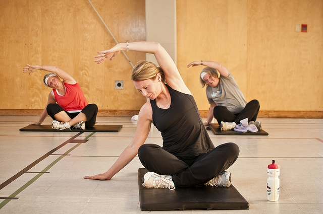 Learn yoga poses at the YMCA of Parry Sound