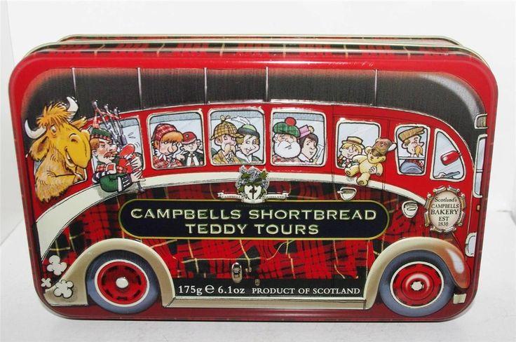 """Bus: """"Campbells Shortbread Teddy Tours"""""""
