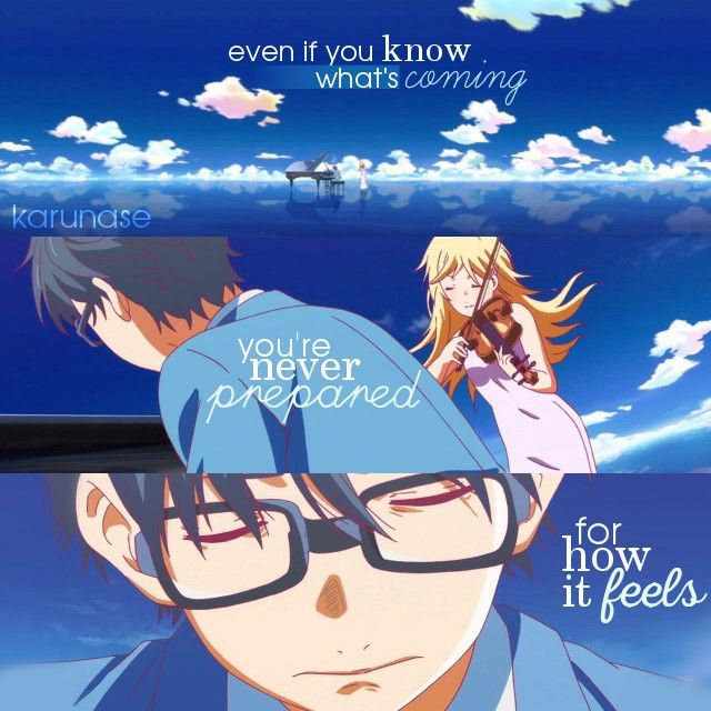 """""""Even if you know what's coming, you're never prepared for how it feels.."""" 