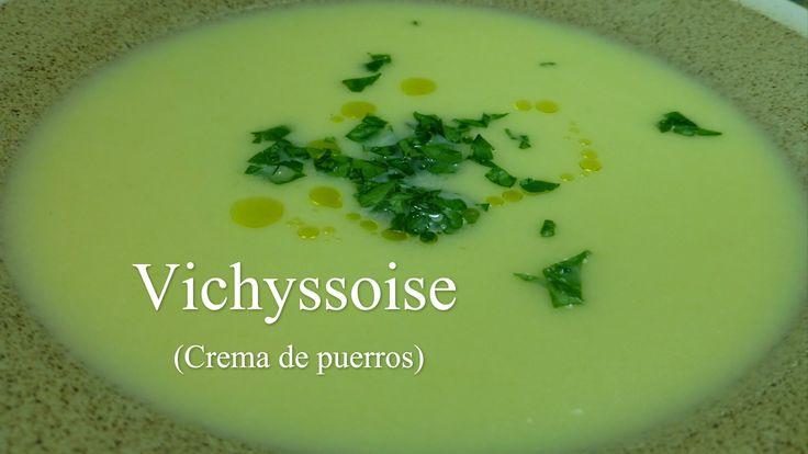 Vichyssoise (crema de puerros)