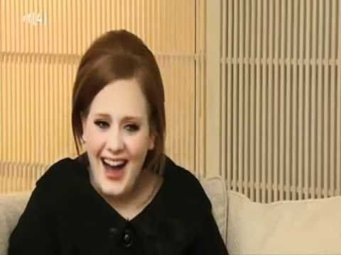 Pin for Later: 15 Times Adele Made You Laugh So Hard That Your Stomach Hurt When She Just Couldn't Stop Cackling Adele's laugh is so famous that it has its own YouTube compilation video.