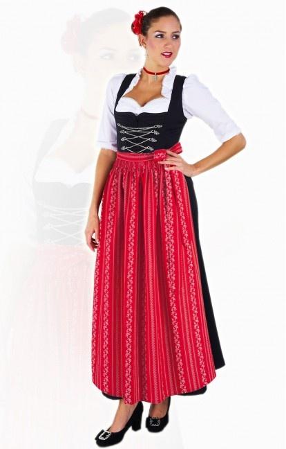 Oktoberfest DIRNDL APRON SC195 red