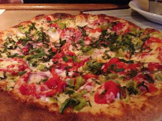 New #spicyitalianpizza at #mancysitaliangrill...how #spicy is it? Let us know...#pizza #italian #woodfiredpizza #toledoohio