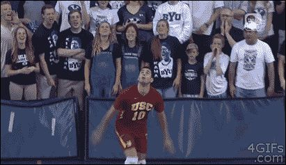 Premature Celebrations vollyball premature celebration sports sports gifs gifs cool image gif funny cool gifs