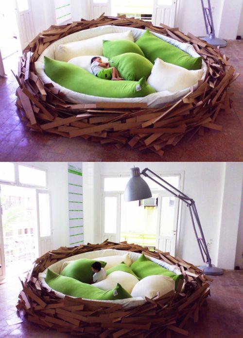 Birdsnest bed by O*GE