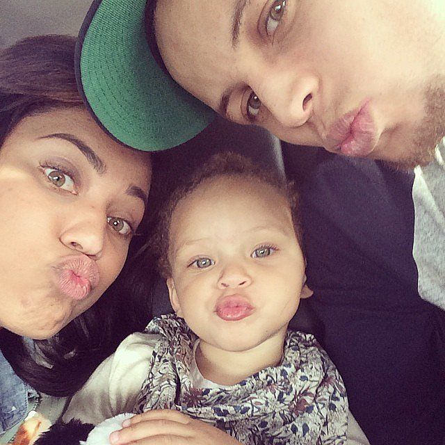 "Sweet; a beautiful family photo. ""Further Proof That Riley Is the Real Star of the Stephen Curry (NBA star) Family"""