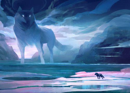 Sea Wolves by KatePfeilschiefter #DiscoverArt - #Art #LoveArt https://wp.me/p6qjkV-evd