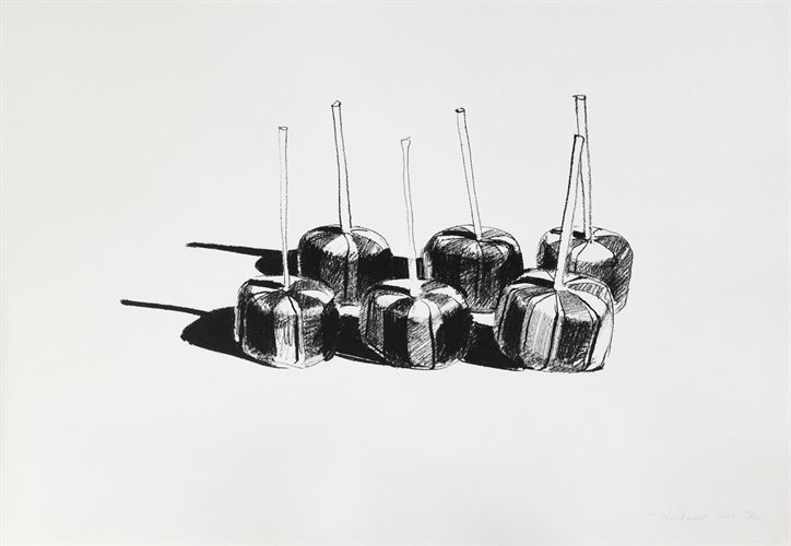 Suckers, State I by Wayne Thiebaud on artnet Auctions