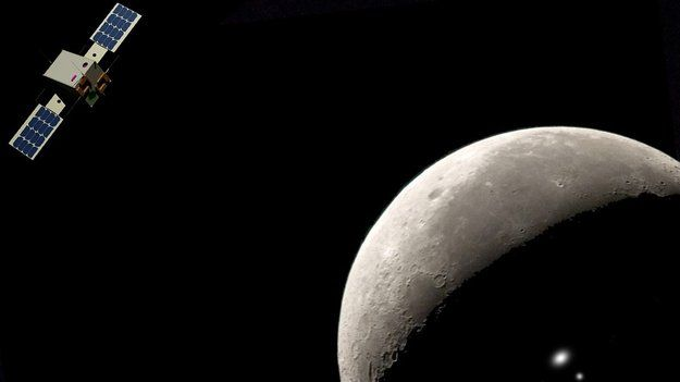 CubeSats for hunting secrets in lunar darkness    Imagine sending a spacecraft the size of an airline cabin bag to the Moon – what would you have it do? ESA issued that challenge to European teams last year, and two winners have now been chosen.