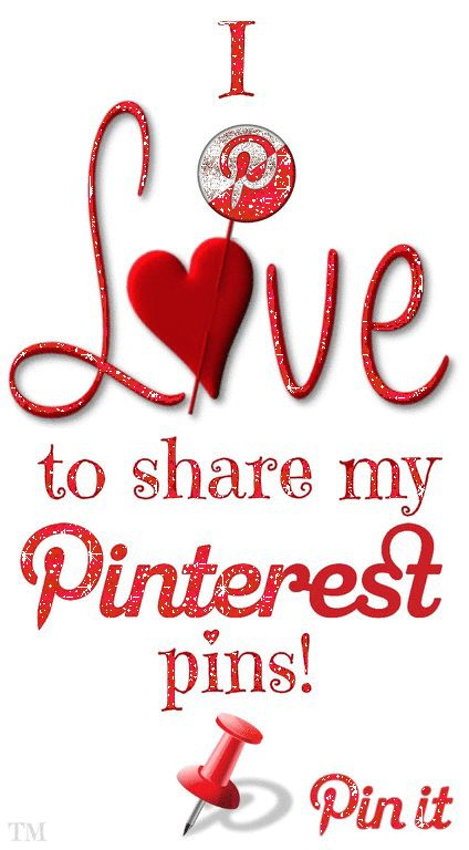 I love to share my Pinterest pins... Happy Pinning <3 Tam <3