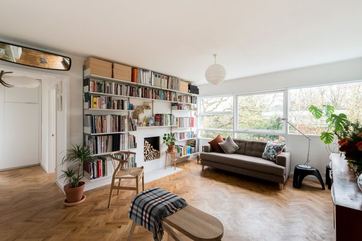 239 best span house images on pinterest lyon contemporary houses two bedroom apartment in the eric lyons designed parkleys span development in ham richmond surrey malvernweather Gallery