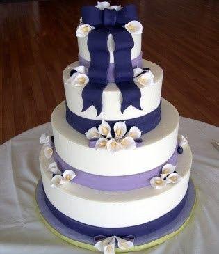 Purple Lily Cake